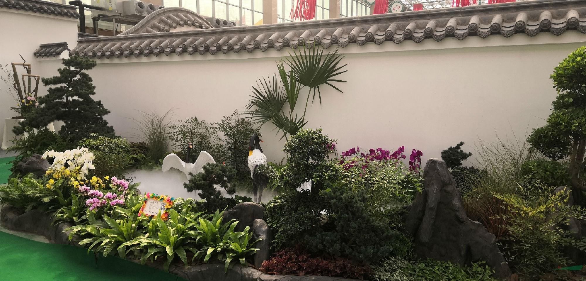 幾木園林景觀 第十九屆中國·中原花木交易博覽會開幕在即,中國園林網現場探秘,<a ><a >景觀設計</a></a> ,簡直不要太美!